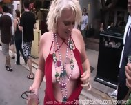 Flashing At Daytime Street Party - scene 9