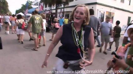 Flashing At Daytime Street Party - scene 3