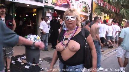 Flashing At Daytime Street Party - scene 4