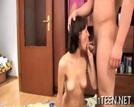 Teen Gives Wonderful Oral Sex - scene 5