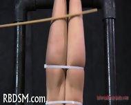 Spreading Open Slave's Pussy - scene 9