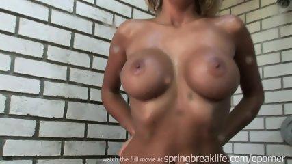 Outdoor Shower Masturbation - scene 5