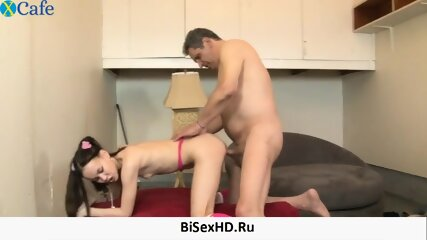 Awesome giantSkinny babe Amai Liu gets her snatch hammered on the sofa bottomed hijab wifey Violet Myers loves some facesitting