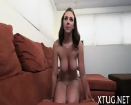 Whore Undresses Before Handjob - scene 3