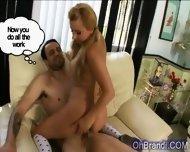 Amazing Tight Blonde Slut Drilled - scene 10