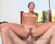 Hottest Tight Teen Rides Big Cock - scene 4
