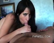 Pale Skin Latina Drilled In Vagina - scene 8