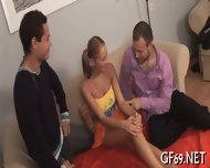 Bookworm Having Threesome - scene 4