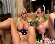 Invigorating Threesome Fornication - scene 11