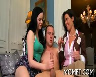Arousing And Lewd Threesome - scene 11