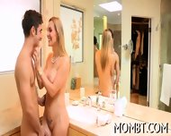 Hot Threesome With A Lusty Mum - scene 4