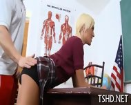 Schoolgirl Nailed Hard - scene 6