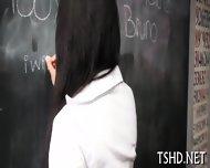Pretty Schoolgirl Fucked - scene 3