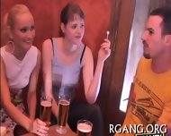 Lesbo And Straight Group - scene 7