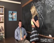Schoolgirl Receives Dick - scene 3