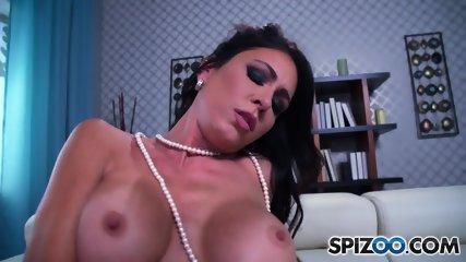 Big Titty Slut Rubs Cunt - scene 9