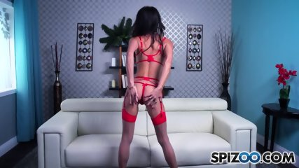 Big Titty Slut Rubs Cunt - scene 2