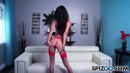 Big Titty Slut Rubs Cunt - scene 4