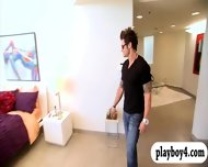 Sexy House Guests Having Fun Playing Games With Hunk Dudes - scene 2