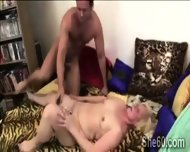 Blonde Granny Gets Her Pussy Assisted By A Young Perv - scene 6