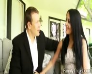 Horny Perv Has An Affair With His Gorgeous Stepdaughter - scene 4