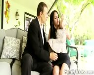 Horny Perv Has An Affair With His Gorgeous Stepdaughter - scene 7