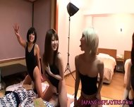 Japanese Swimsuit Babes In Orgy - scene 4