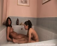 2 Girls Playing In A Tub - scene 8
