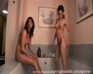 2 Girls Playing In A Tub - scene 6