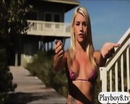 Sexy Badass Babes Reptile Wrangling And Topless Jetski Action - scene 2