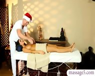 Dirty Masseur Fucked Hard And Jizzed On Her Big Tits Client - scene 7