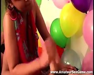Blowjob For Amateurs In Party Game Group Sex - scene 7