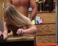 Pawn Shop Customer Gets Facial - scene 11