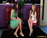 Lucky Man Getting Blowjob From Two Horny Girls - scene 1