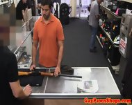 Pawnshop Straight Toys With Himself - scene 3
