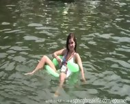 Naked In Public On The Water - scene 9