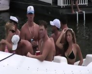 Naked In Public On The Water - scene 6