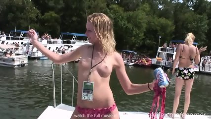 Naked In Public On The Water