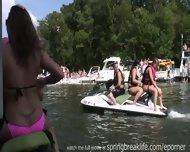 Girls Flashing On The Lake - scene 1