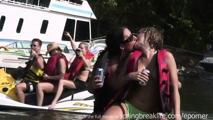 Girls Flashing On The Lake - scene 2