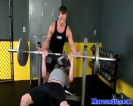 Cut Gaybait Pornstar Fucked In The Gym - scene 4