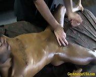 Ebony Straight Jock Thick Dick Massaged - scene 4
