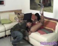Perky Young Ebony Babe Slow Licked - scene 4