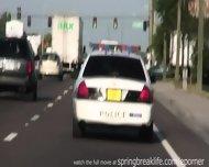 Girls Flashing In Traffic - scene 12