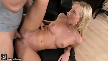 Pretty Blonde Takes Penis - scene 8