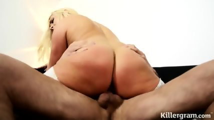 Fucking With Hot Blonde In Nylons - scene 9