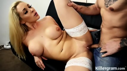 Fucking With Hot Blonde In Nylons - scene 6