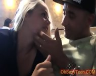Hot Young Blonde Wants To Fuck In A Cafe - scene 8