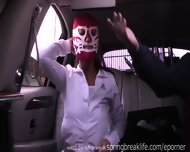 Flashing At The Mexican Border - scene 9
