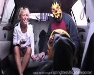 Flashing At The Mexican Border - scene 11